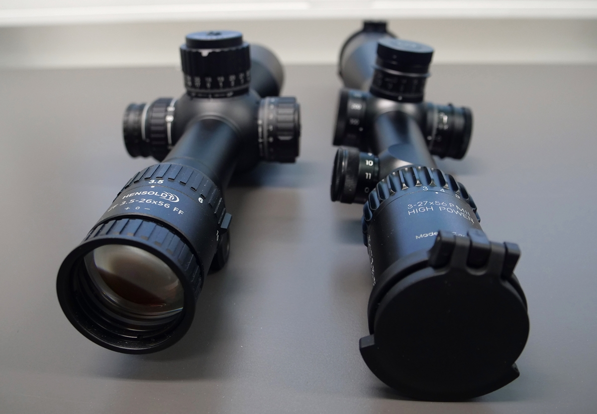 Hensoldt ZF 3.5-26×56 FF vs Schmidt & Bender 3-27×56 PMII High Power