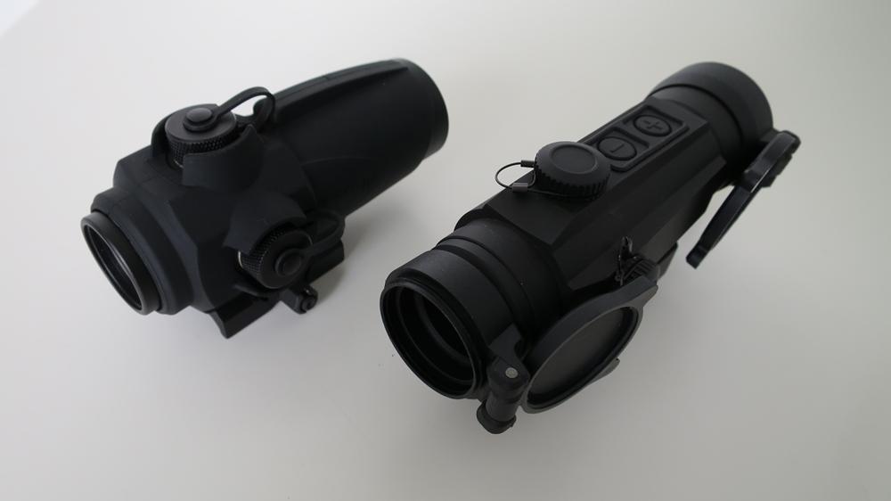 Sightmark Wolverine 1×28 FSR vs Holosun HS402D
